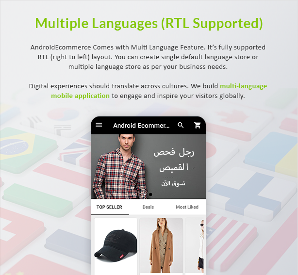 Android Ecommerce - Universal Android Ecommerce / Store Full Mobile App with Laravel CMS - 14