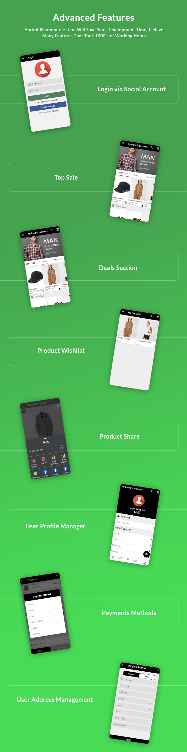 Android Ecommerce - Universal Android Ecommerce / Store Full Mobile App with Laravel CMS - 20