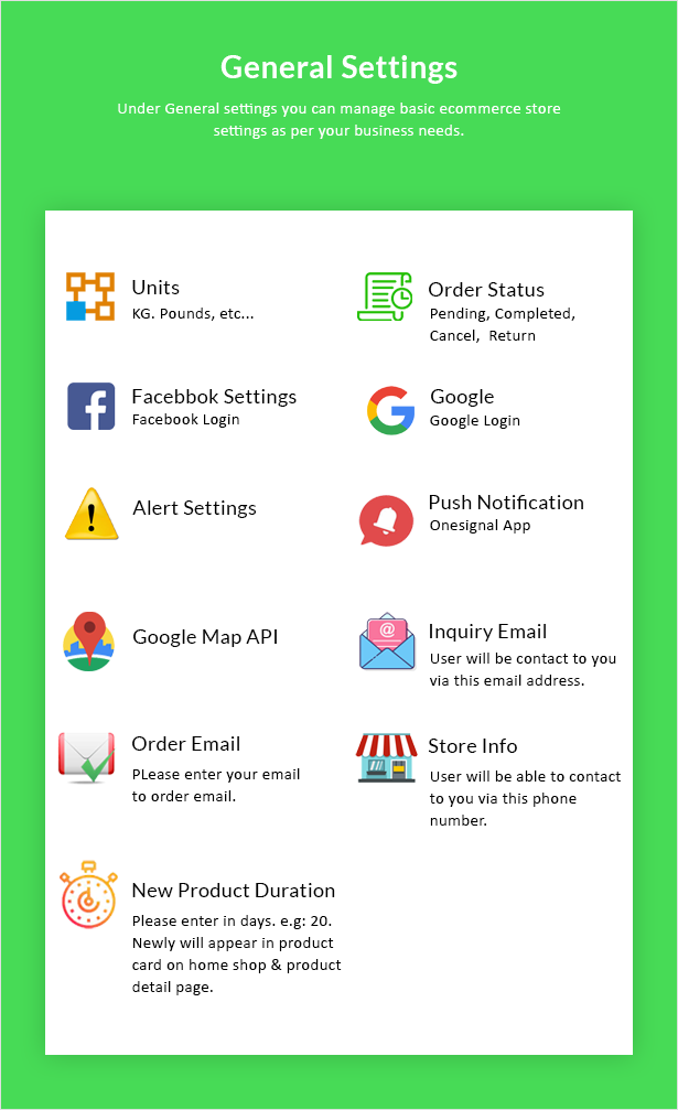 Android Ecommerce - Universal Android Ecommerce / Store Full Mobile App with Laravel CMS - 30
