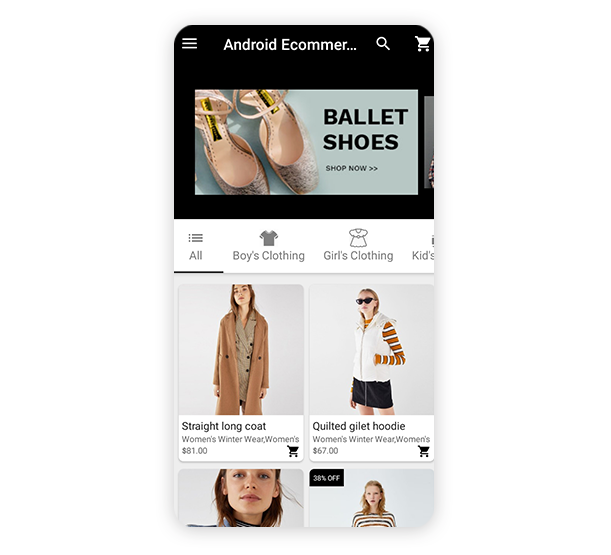 Android Ecommerce - Universal Android Ecommerce / Store Full Mobile App with Laravel CMS - 33
