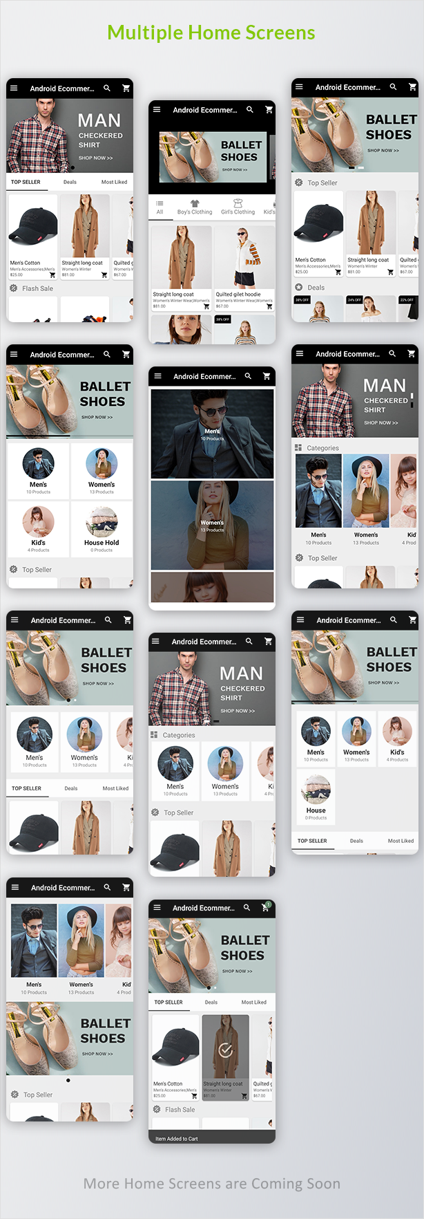 Android Ecommerce - Universal Android Ecommerce / Store Full Mobile App with Laravel CMS - 8