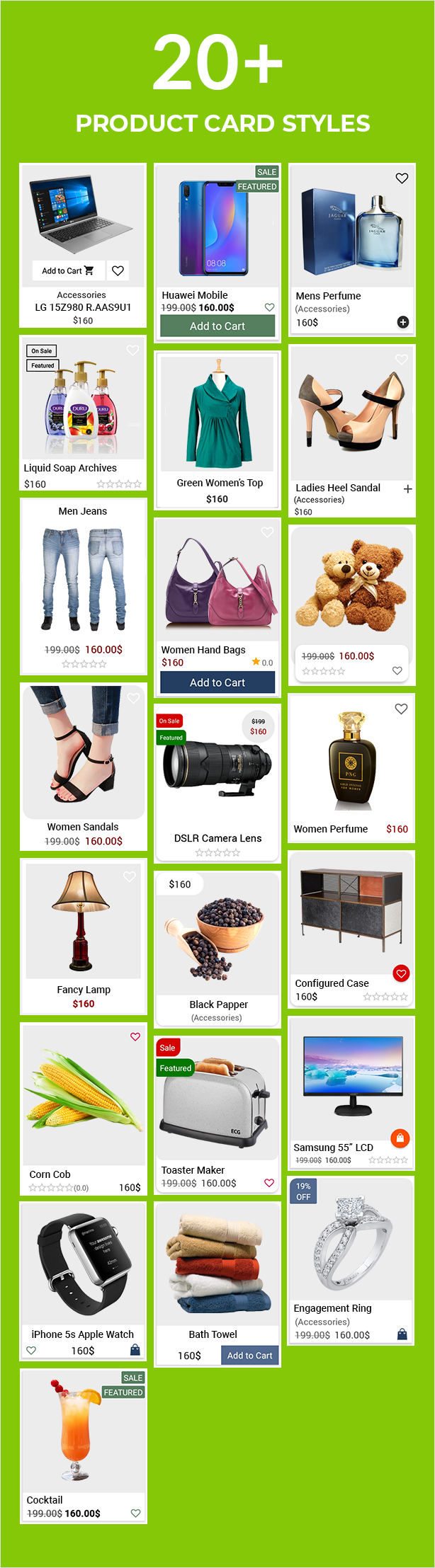 Android Ecommerce - Universal Android Ecommerce / Store Full Mobile App with Laravel CMS - 10