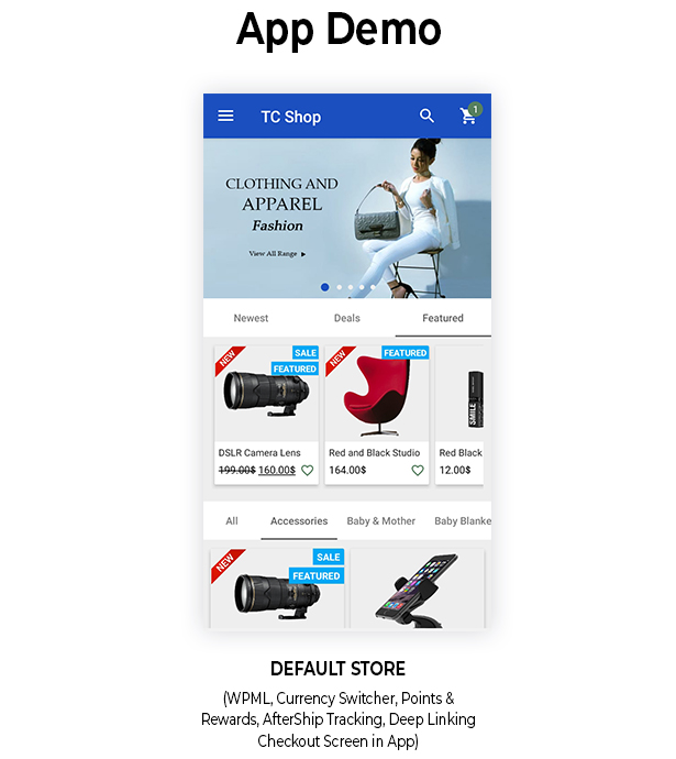 Android Woocommerce - Universal Native Android Ecommerce / Store Full Mobile Application - 10