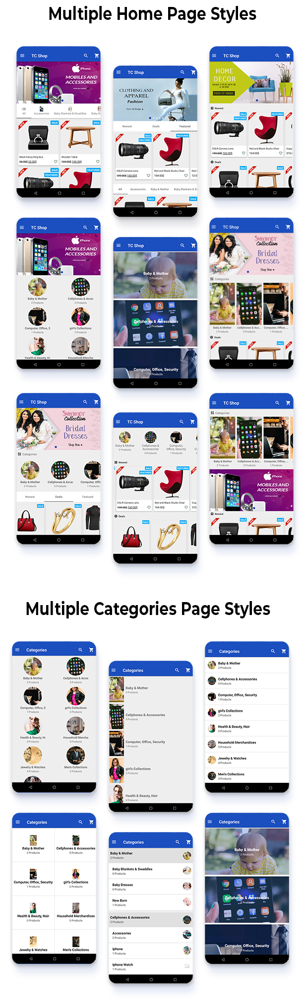 Android Woocommerce - Universal Native Android Ecommerce / Store Full Mobile Application - 7