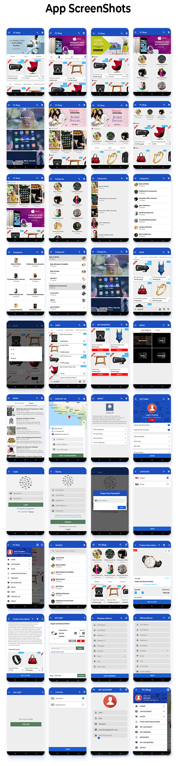 Android Woocommerce - Universal Native Android Ecommerce / Store Full Mobile Application - 9