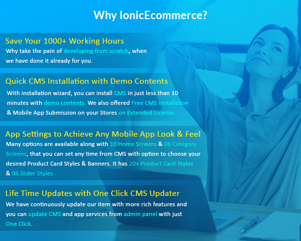 Ionic5 Ecommerce - Universal iOS & Android Ecommerce / Store Full Mobile App with Laravel CMS - 4