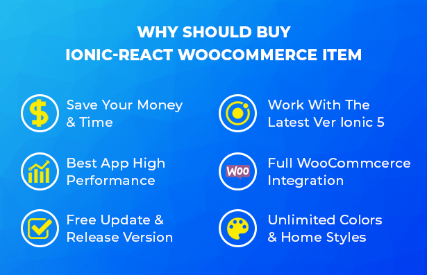 Ionic React Woocommerce - Universal Full Mobile App Solution for iOS & Android / WordPress Plugins - 18