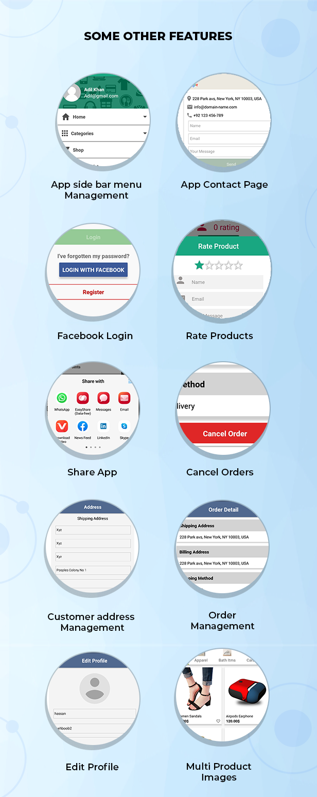 Ionic React Woocommerce - Universal Full Mobile App Solution for iOS & Android / WordPress Plugins - 22