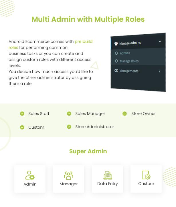 Android Ecommerce - Aplicativo móvel completo de loja / comércio eletrônico Android universal com Laravel CMS - 20