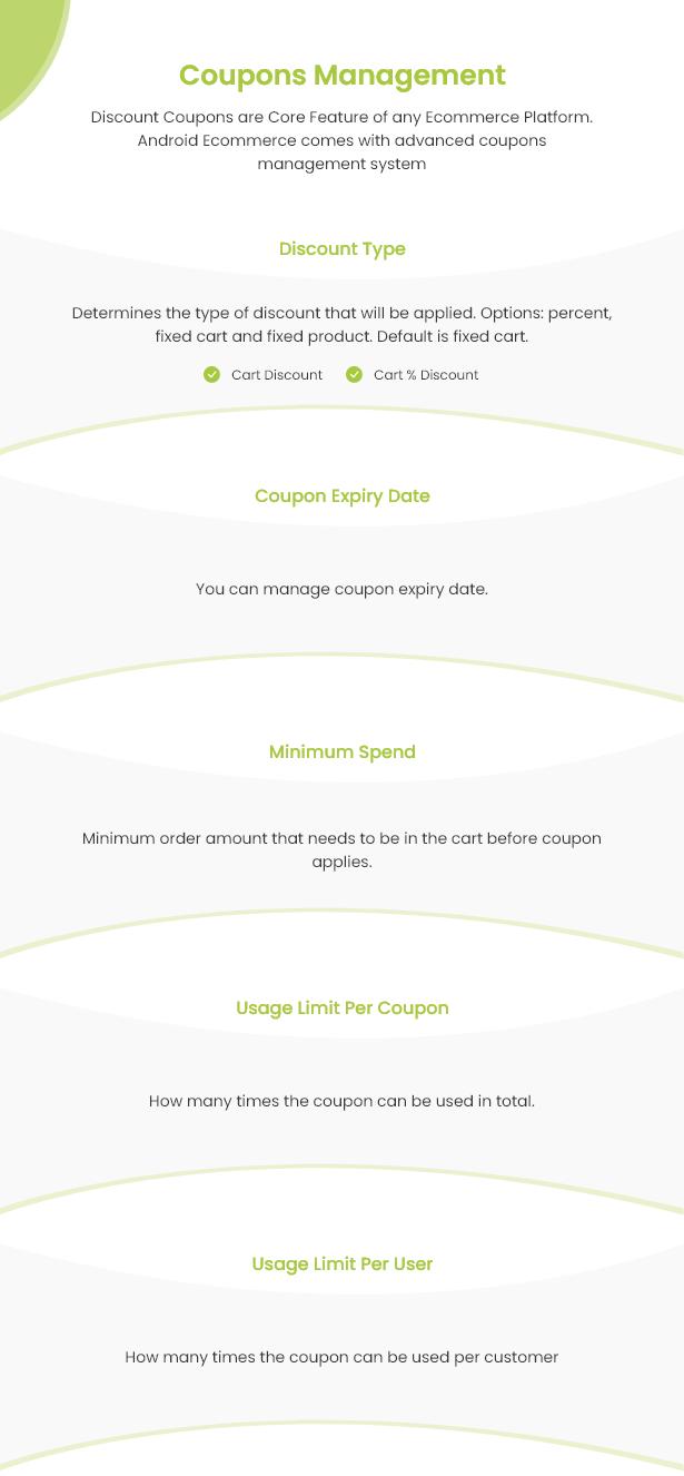 Android Ecommerce - Aplicativo móvel completo de loja / comércio eletrônico Android universal com Laravel CMS - 26