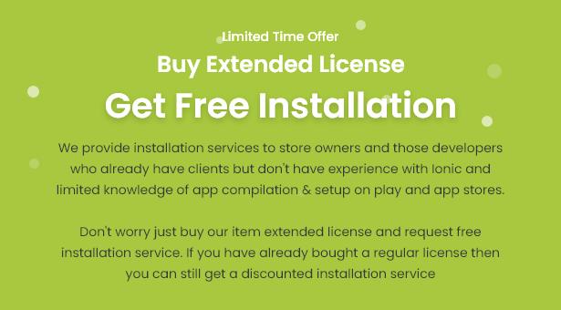 Android Ecommerce - aplicativo móvel completo de loja / comércio eletrônico Android universal com Laravel CMS - 35