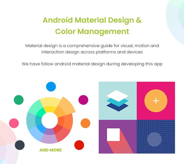 Android Ecommerce - Aplicativo móvel completo de loja / comércio eletrônico Android universal com Laravel CMS - 10