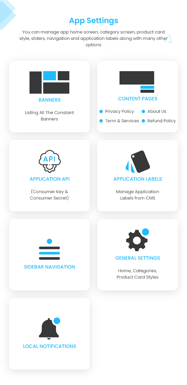 Flutter Ecommerce - Universal iOS e Android Ecommerce / Store Full Mobile App com PHP Laravel CMS - 26