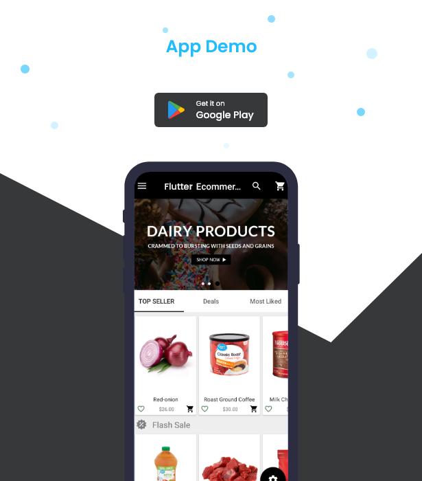 Flutter Ecommerce - Universal iOS e Android Ecommerce / Store Full Mobile App com PHP Laravel CMS - 27
