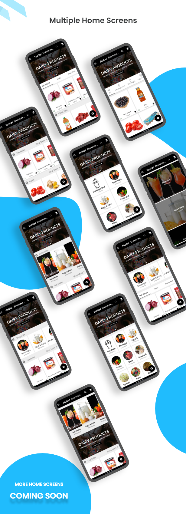 Flutter Ecommerce - Universal iOS e Android Ecommerce / Store Full Mobile App com PHP Laravel CMS - 9