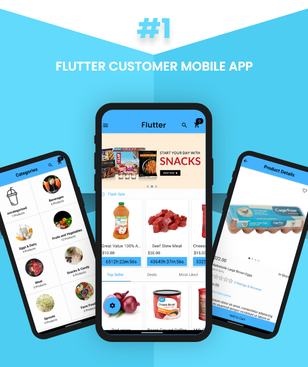 Flutter Delivery Solution Apps with Advance Website and CMS - 30
