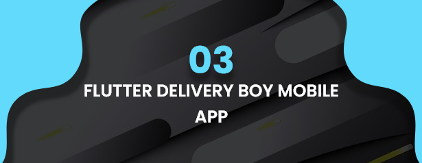 Flutter Delivery Solution Apps with Advance Website and CMS - 37