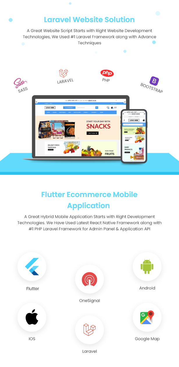 Flutter Delivery Solution Apps with Advance Website and CMS - 8