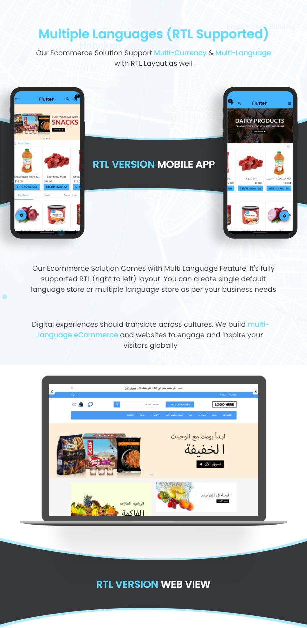 Flutter Delivery Solution Apps with Advance Website and CMS - 9