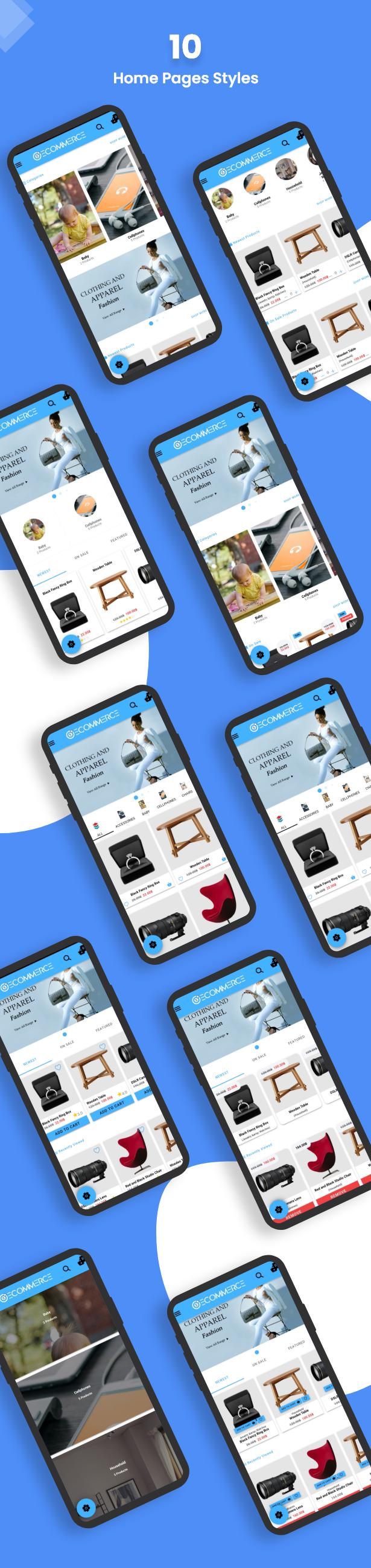 Ionic5 Woocommerce - Ionic5/Angular8 Universal Full Mobile App for iOS & Android / Wordpress Plugins 11