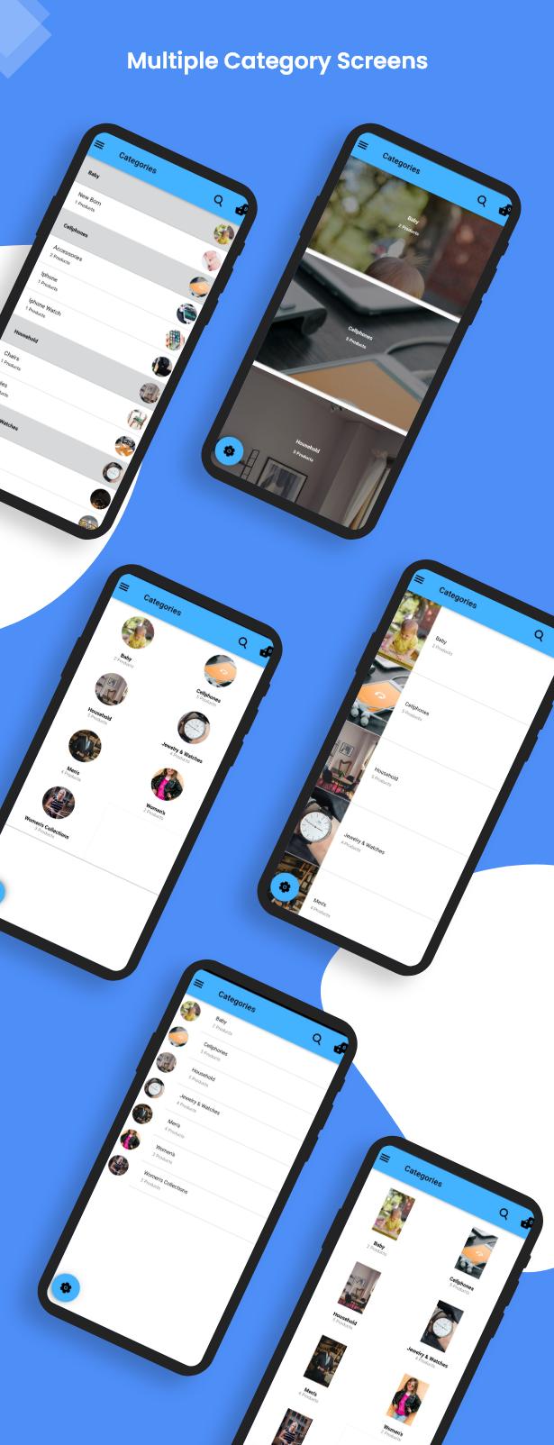 Ionic5 Woocommerce - Ionic5/Angular8 Universal Full Mobile App for iOS & Android / Wordpress Plugins 12