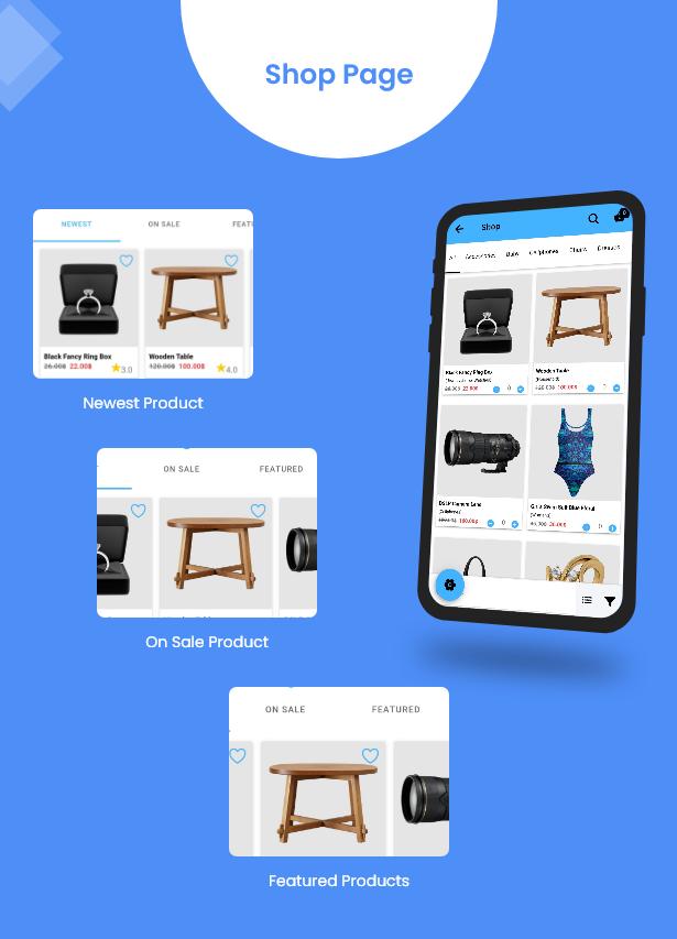 Ionic5 Woocommerce - Ionic5/Angular8 Universal Full Mobile App for iOS & Android / Wordpress Plugins 15