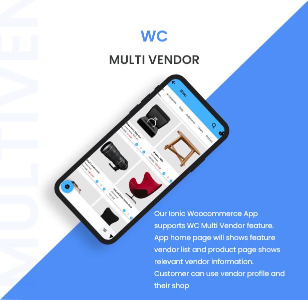 Ionic5 Woocommerce - Ionic5/Angular8 Universal Full Mobile App for iOS & Android / Wordpress Plugins 22