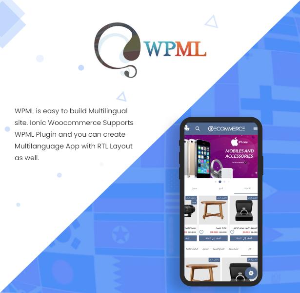 Ionic5 Woocommerce - Ionic5/Angular8 Universal Full Mobile App for iOS & Android / Wordpress Plugins 23