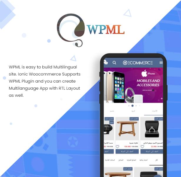 Ionic5 Woocommerce - Ionic5/Angular8 Universal Full Mobile App for iOS & Android / Wordpress Plugins 32