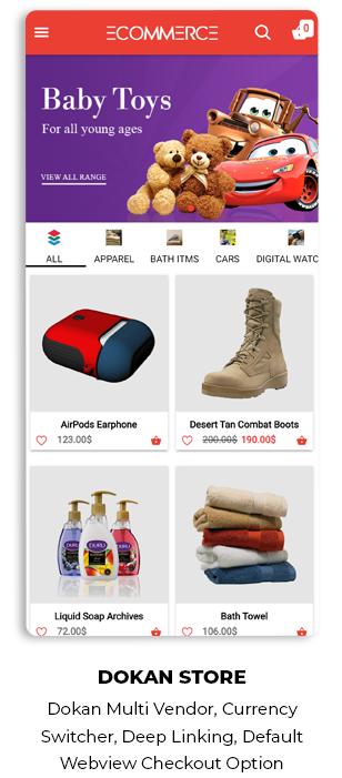 Ionic5 Woocommerce - Ionic5/Angular8 Universal Full Mobile App for iOS & Android / Wordpress Plugins 51