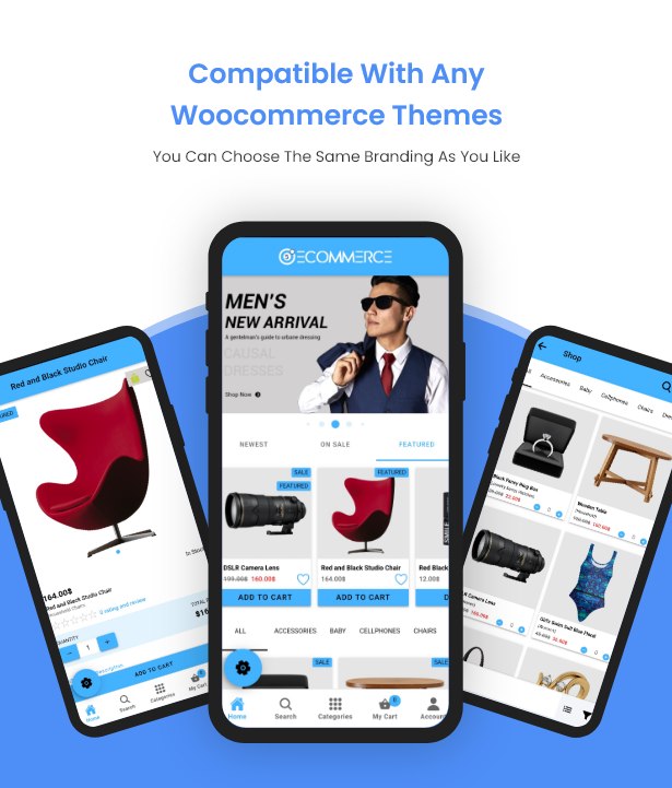 Ionic5 Woocommerce - Ionic5/Angular8 Universal Full Mobile App for iOS & Android / Wordpress Plugins 36