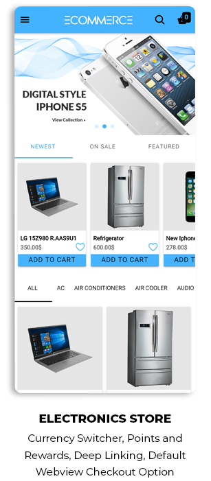 Ionic5 Woocommerce - Ionic5/Angular8 Universal Full Mobile App for iOS & Android / Wordpress Plugins 52