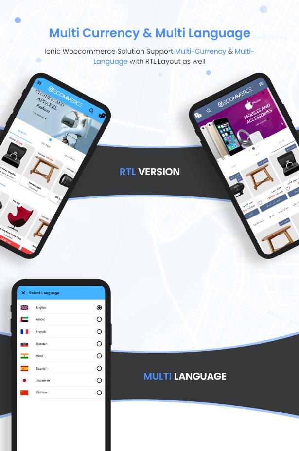 Ionic5 Woocommerce - Ionic5/Angular8 Universal Full Mobile App for iOS & Android / Wordpress Plugins 5