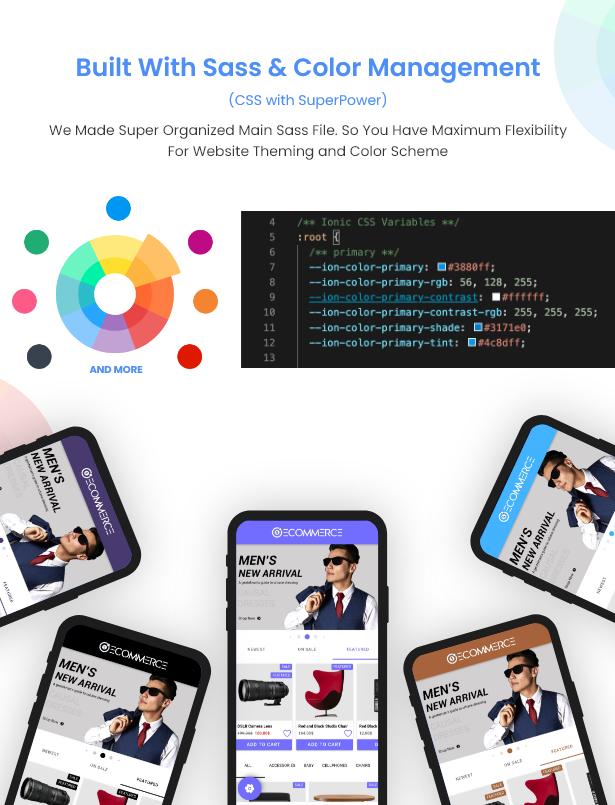 Ionic5 Woocommerce - Ionic5/Angular8 Universal Full Mobile App for iOS & Android / Wordpress Plugins 6