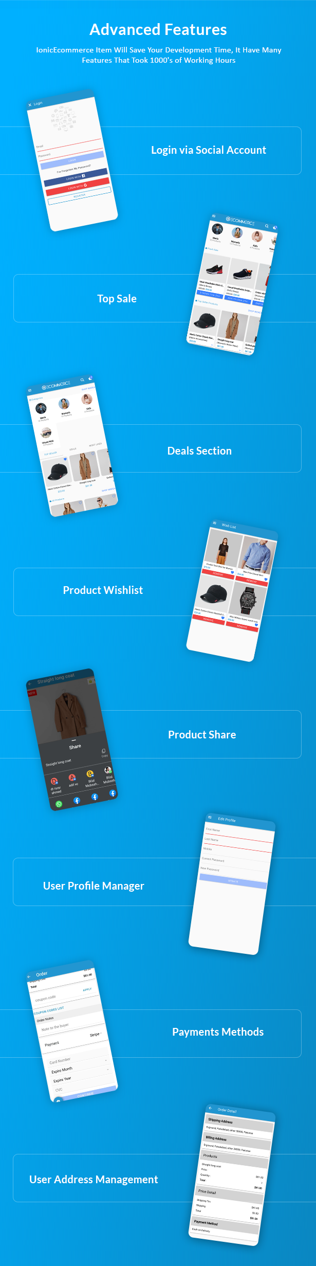 Ionic5 Ecommerce - Universal iOS & Android Ecommerce / Store Full Mobile App with Laravel CMS - 20