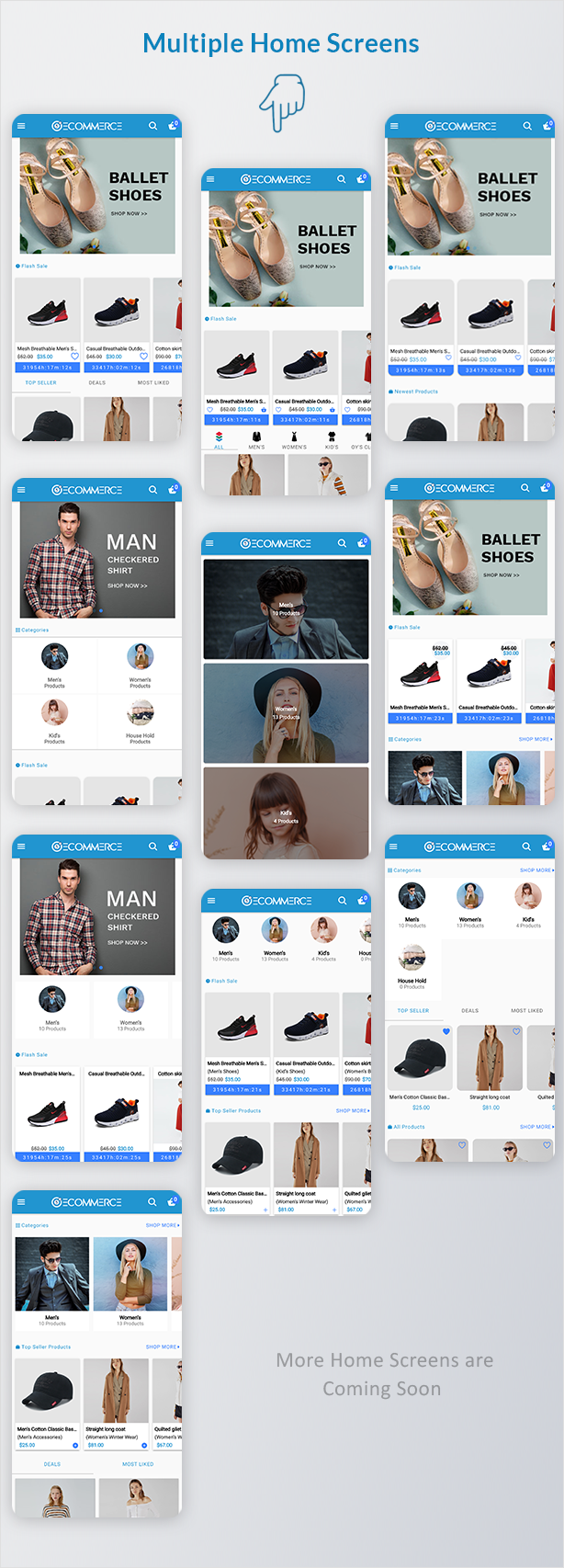 Ionic5 Ecommerce - Universal iOS & Android Ecommerce / Store Full Mobile App with Laravel CMS - 8