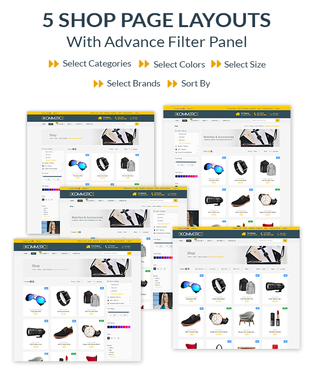 Laravel Ecommerce - Universal Ecommerce/Store Full Website with Themes and Advanced CMS/Admin Panel - 11