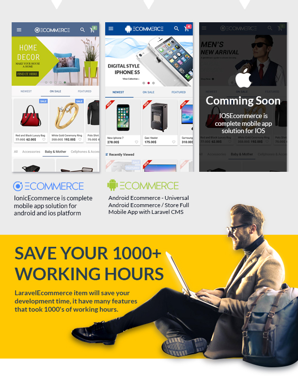 Laravel Ecommerce - Universal Ecommerce/Store Full Website with Themes and Advanced CMS/Admin Panel - 3