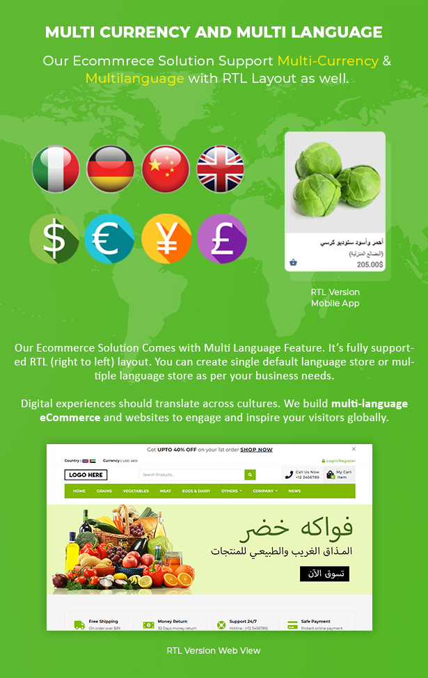 Ecommerce Solution with Delivery App For Grocery, Food, Pharmacy, Any Store / Laravel + Android Apps - 9
