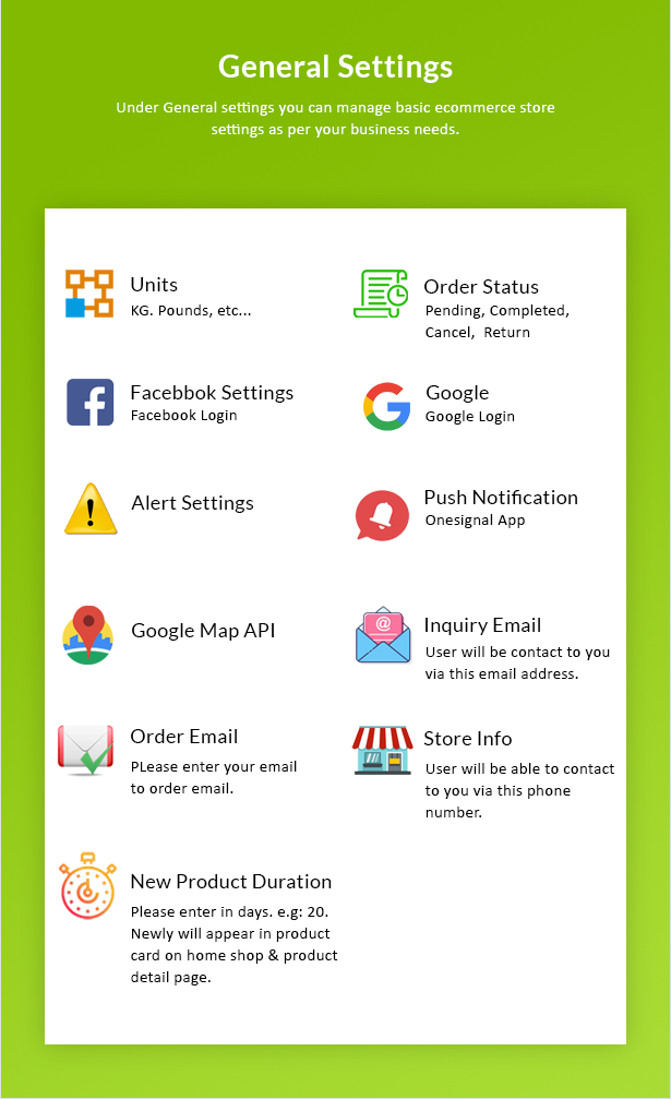 Ecommerce Solution with Delivery App For Grocery, Food, Pharmacy, Any Store / Laravel + Android Apps - 54