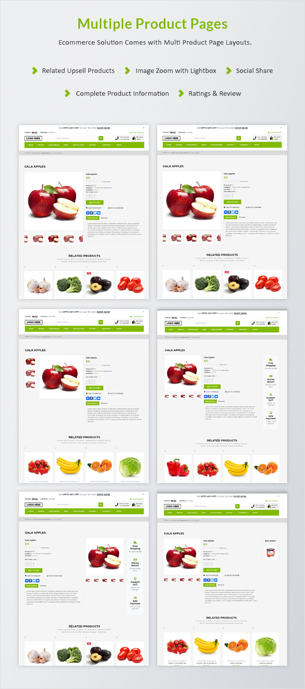 Ecommerce Solution with Delivery App For Grocery, Food, Pharmacy, Any Store / Laravel + Android Apps - 28