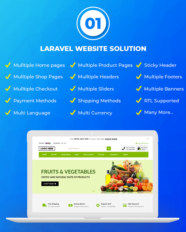 Best Ecommerce Solution with Delivery App For Grocery, Food, Pharmacy, Any Stores / Laravel + IONIC5 - 2