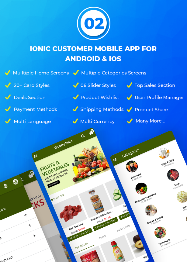 Best Ecommerce Solution with Delivery App For Grocery, Food, Pharmacy, Any Stores / Laravel + IONIC5 - 3