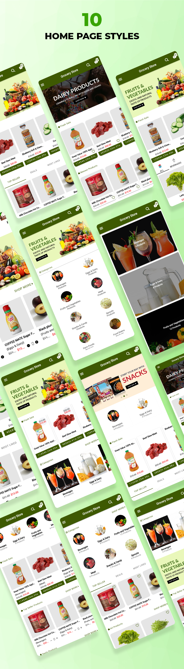 Best Ecommerce Solution with Delivery App For Grocery, Food, Pharmacy, Any Stores / Laravel + IONIC5 - 39
