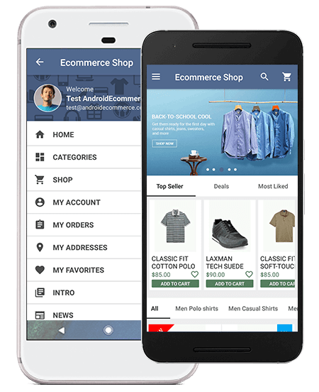Universal Ios Android Ecommerce Ionic - TropicalWeather
